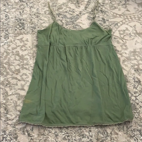 American Eagle Outfitters Tops - Green tank